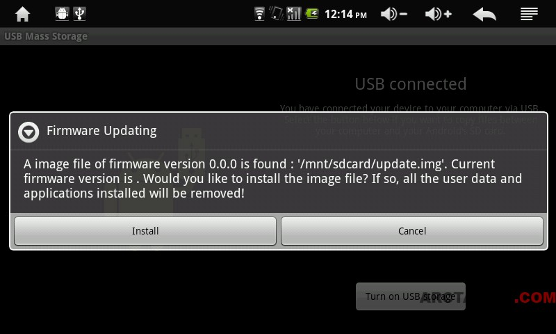Improved Archos 7HTv2 Android 2 1 (Eclair) firmware with
