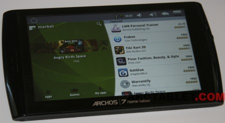 Android 2 2 (Froyo) with Market and Root on Archos 7 HTv2 hvdwolf