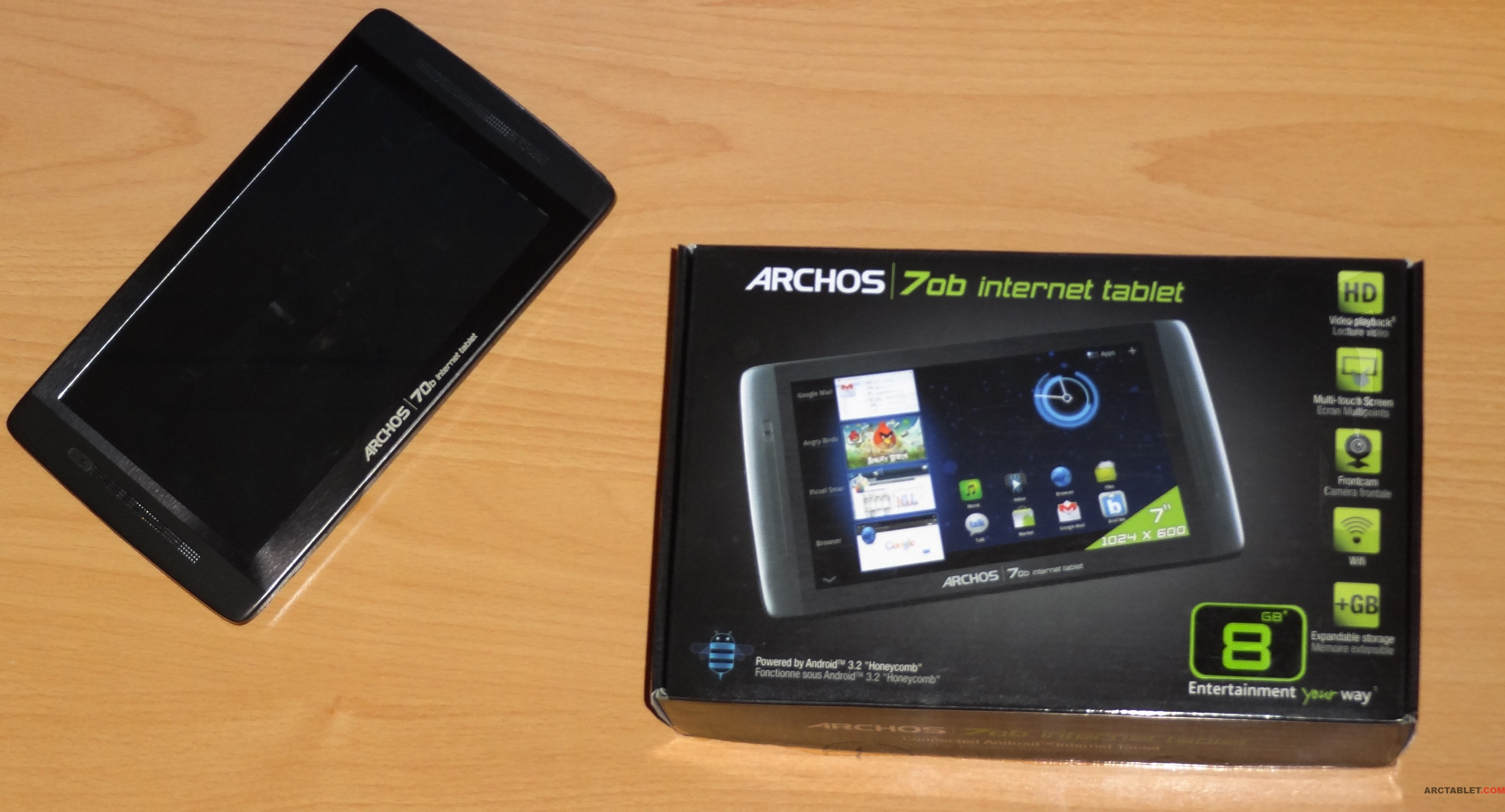 Archos 70b IT review Part 2: Hardware&Look and feel