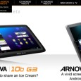 Arnova website is just starting to list their new Arnova G3 product line on their website. Many Android Tablets are expected, from 7 inches to 10 inches, capacitive and resistive...