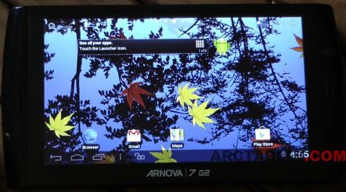 Arnova 9 G2 Android   ICS and Google Play with a custom ...