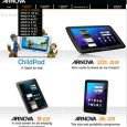 Arnova web site has just been updated with the full product line of their third generation of Arnova G3 tablets. Arnova G3 are mostly an evolution of the Arnova G2...