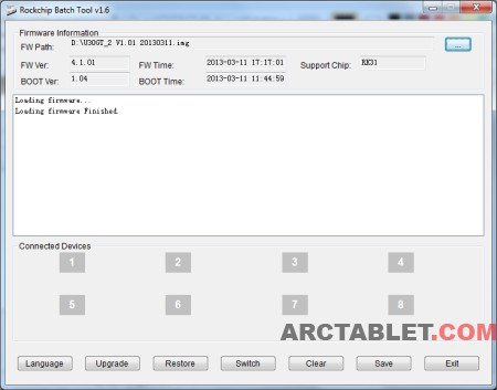 ARCTABLET NEWS » Firmware