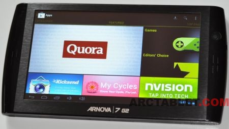 Arnova 7 G2 custom firmware upgrade to Android 4.0 ICS with Google