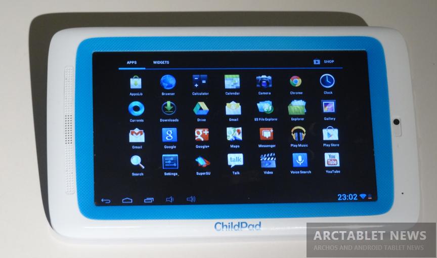 Arnova ChildPad&7d G3 Capacitive Android 4 1 1 JB Custom