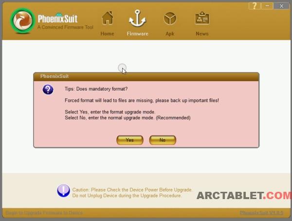 PhoenixSuit flashing tutorial for Onda V972, V812 and other