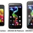 After offering a DECT Smartphone for the home and additional 3G functionality on their tablets, ARCHOS is now fully entering in the smartphone industry. The first three models of their...