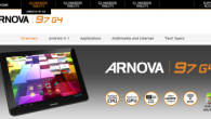 The first device in the Arnova G4 product line has just been popped up on their website with the Arnova 97 G4. On the specifications department, there is nothing too...