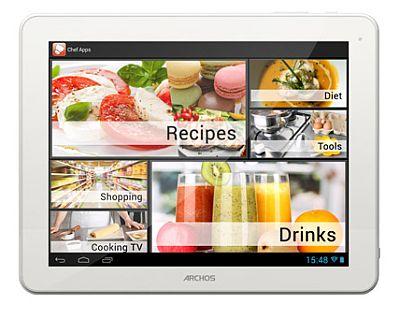 ARCHOS_ChefPad_Chefapps_nowrmk